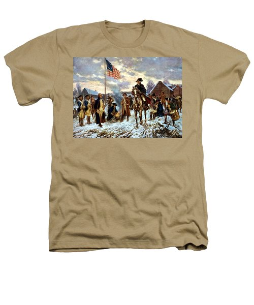 Washington At Valley Forge Heathers T-Shirt