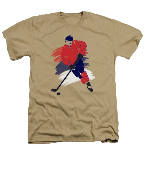 Washington Capitals Player Shirt Heathers T-Shirt by Joe Hamilton