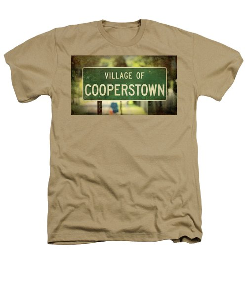 Welcome To Cooperstown Heathers T-Shirt