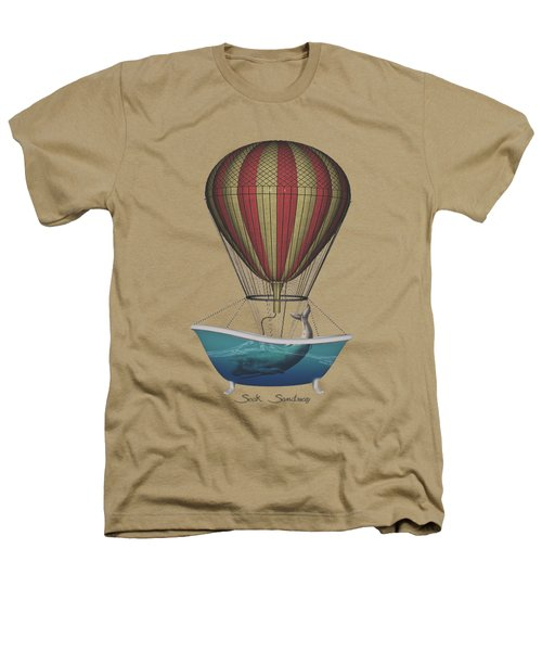 Seek Sanctuary Heathers T-Shirt by Galen Valle