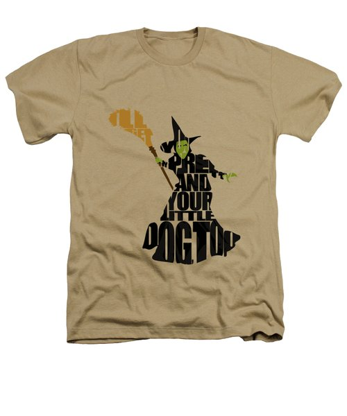 Wicked Witch Of The West Heathers T-Shirt by Ayse Deniz