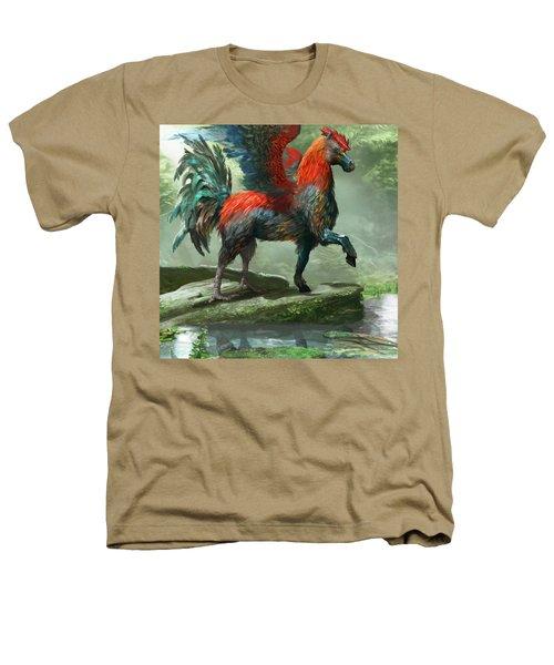 Wild Hippalektryon Heathers T-Shirt