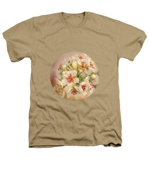 Wild Pear Blossom Heathers T-Shirt