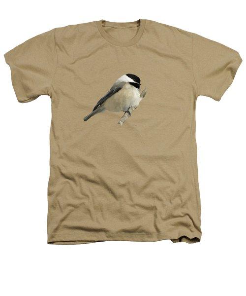 Willow Tit Heathers T-Shirt by Bamalam  Photography
