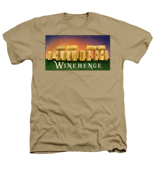 Winehenge Heathers T-Shirt by Will Bullas