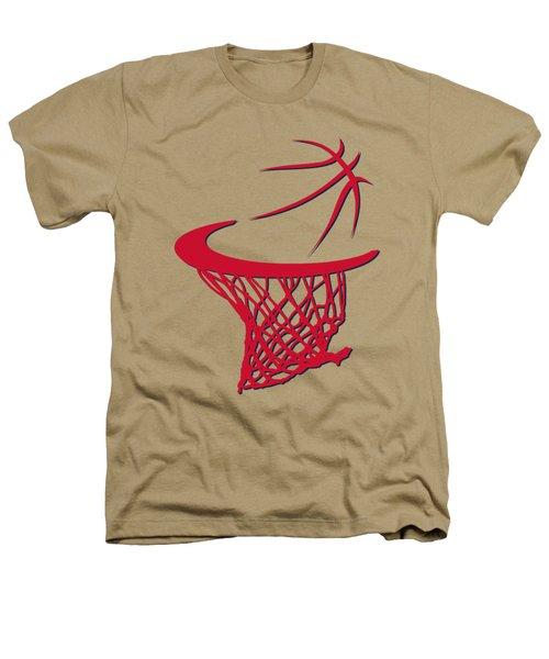 Wizards Basketball Hoop Heathers T-Shirt