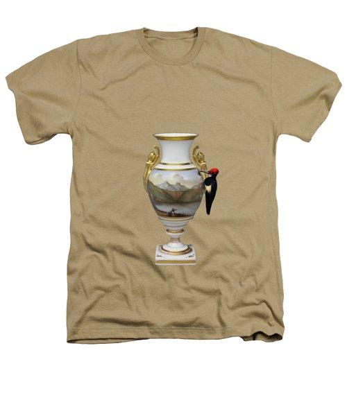 Wood Pecker's Dream Heathers T-Shirt by Keshava Shukla