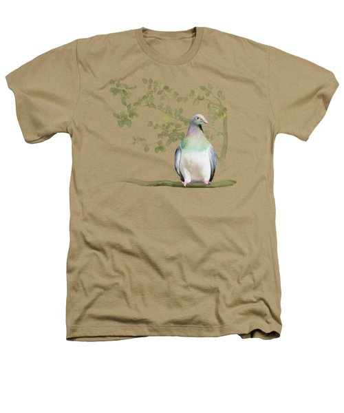Wood Pigeon Heathers T-Shirt by Ivana Westin