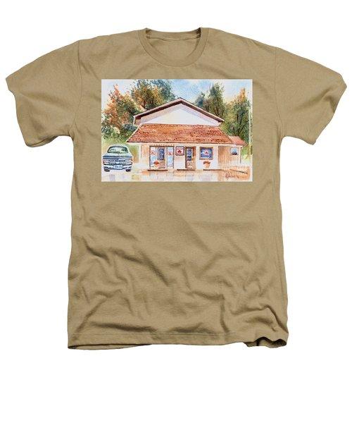 Woodcock Insurance In Watercolor  W406 Heathers T-Shirt by Kip DeVore