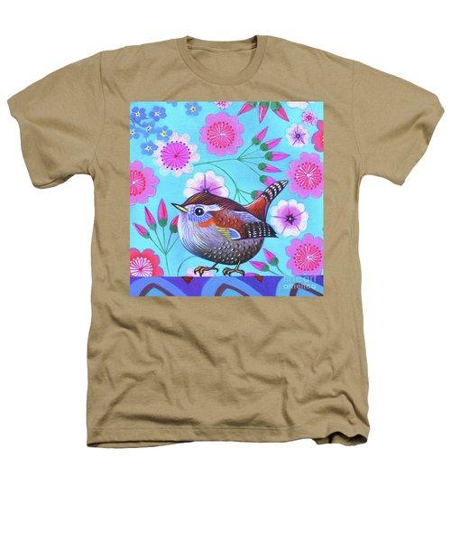 Wren Heathers T-Shirt by Jane Tattersfield
