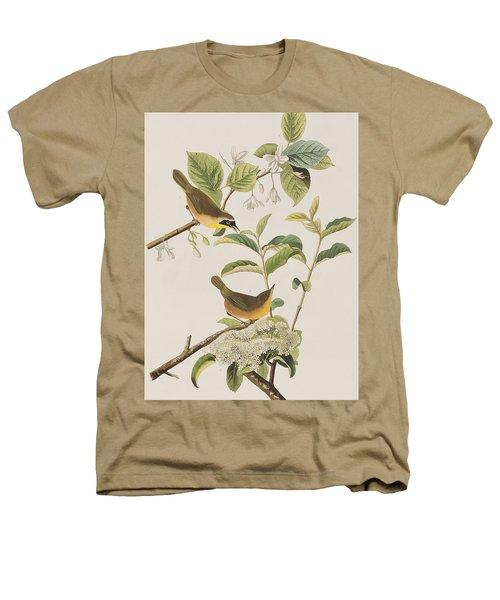Yellow-breasted Warbler Heathers T-Shirt by John James Audubon
