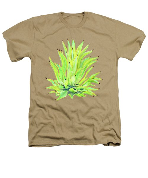 Yellow Octopus Agave Heathers T-Shirt