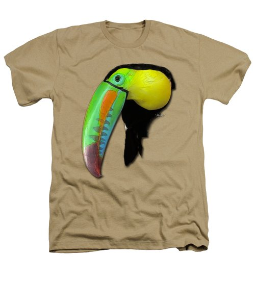 Yellow Toucan Heathers T-Shirt