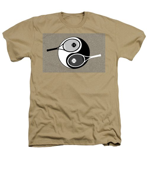 Yin Yang Tennis Heathers T-Shirt
