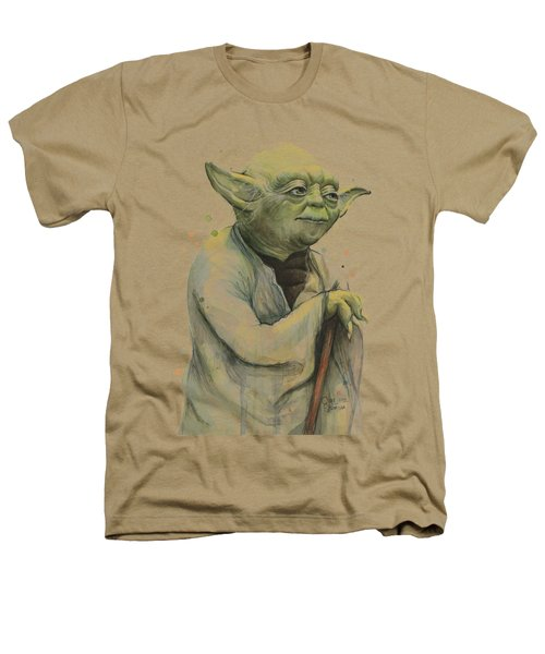 Yoda Portrait Heathers T-Shirt