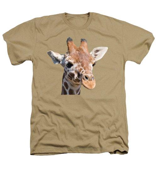 Young Giraffe  Heathers T-Shirt