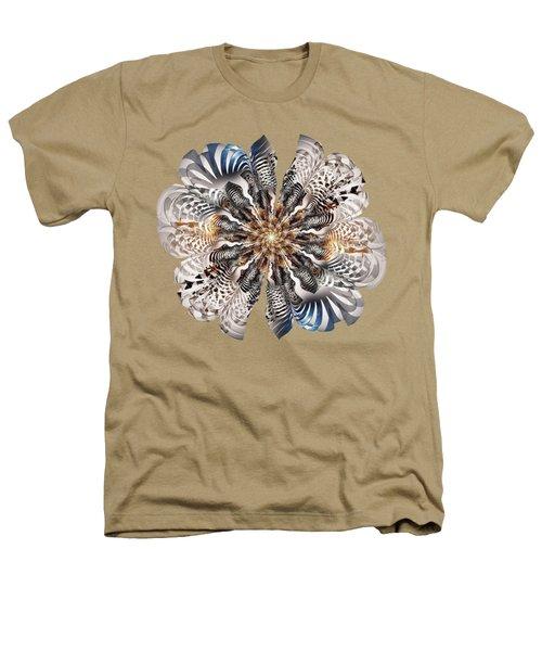 Zebra Flower Heathers T-Shirt by Anastasiya Malakhova