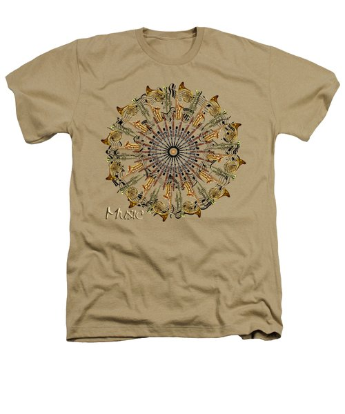 Zeerkl Of Music Heathers T-Shirt by Edelberto Cabrera