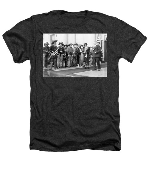 Cowboy Band, 1929 Heathers T-Shirt by Granger