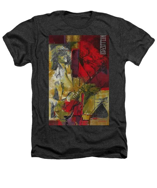 Led Zeppelin  Heathers T-Shirt by Corporate Art Task Force