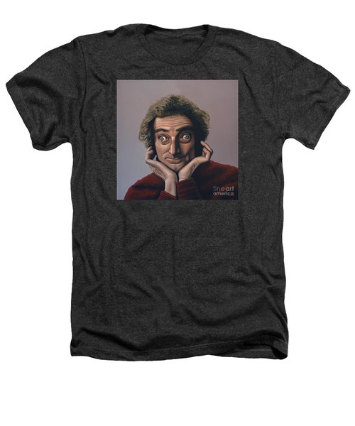 Marty Feldman Heathers T-Shirt by Paul Meijering