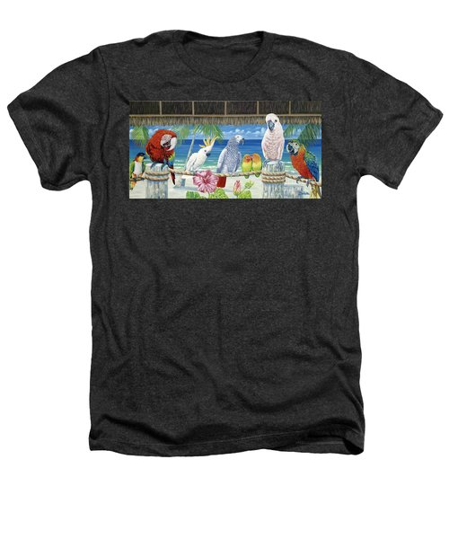 Parrots In Paradise Heathers T-Shirt