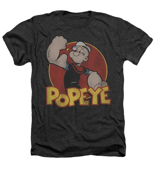 Popeye - Retro Ring Heathers T-Shirt
