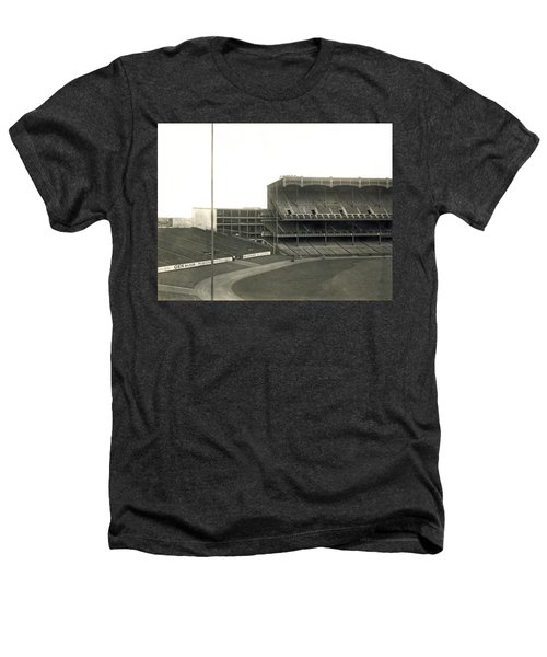 1923 Yankee Stadium Heathers T-Shirt by Underwood Archives