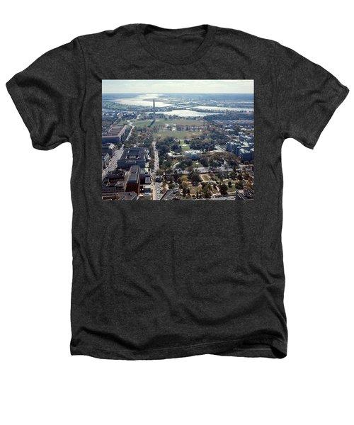 1960s Aerial View Washington Monument Heathers T-Shirt