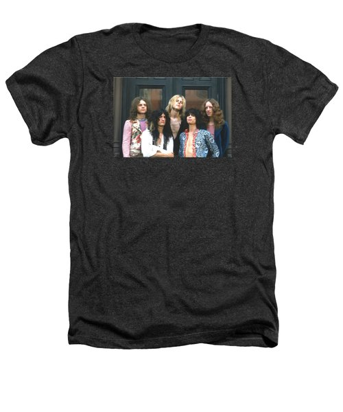 Aerosmith - Boston 1973 Heathers T-Shirt by Epic Rights