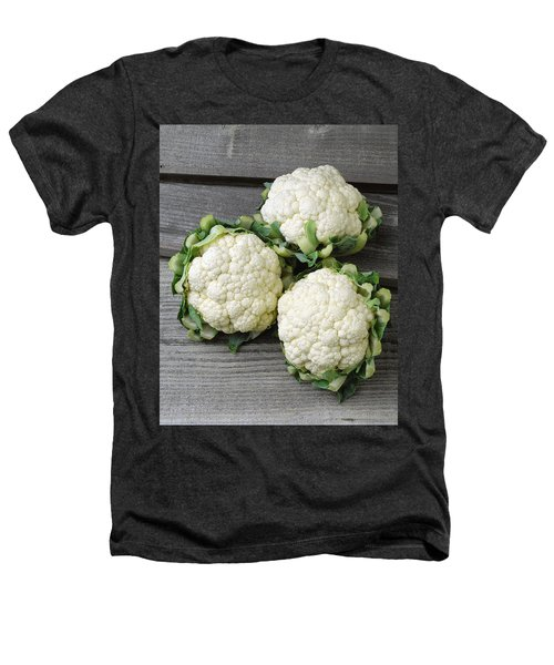 Agriculture - Fresh Heads Heathers T-Shirt by Ed Young