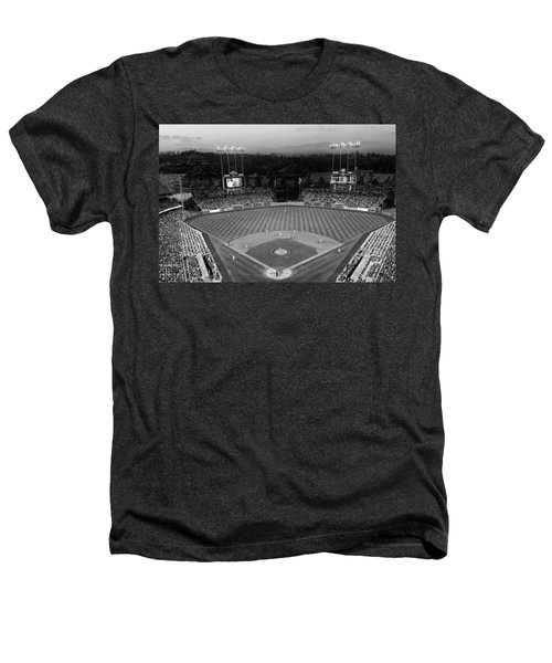 An Evening Game At Dodger Stadium Heathers T-Shirt
