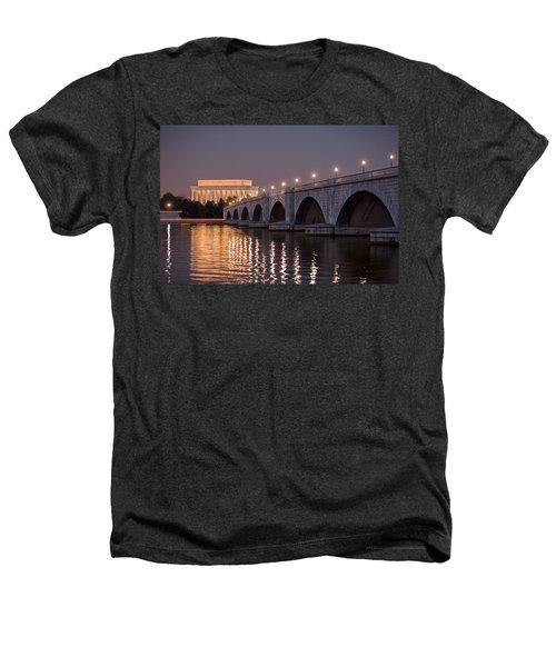 Arlington Memorial Bridge Heathers T-Shirt