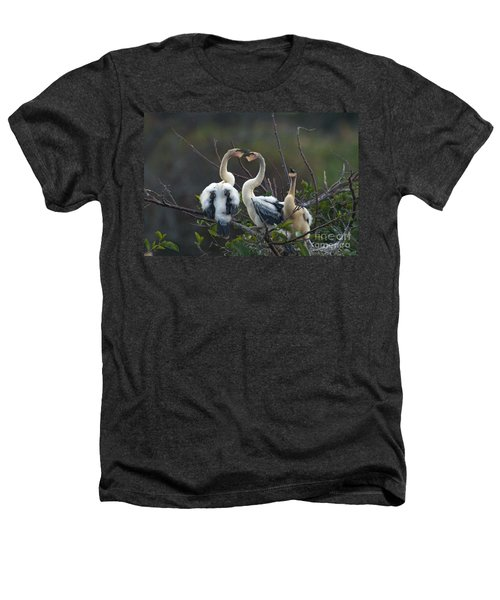 Baby Anhinga Heathers T-Shirt by Mark Newman