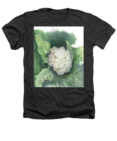 Baby Cauliflower Heathers T-Shirt by Maria Hunt