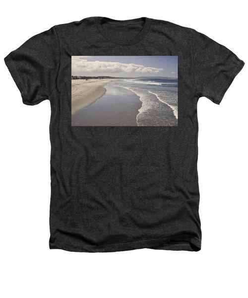 Beach At Santa Monica Heathers T-Shirt