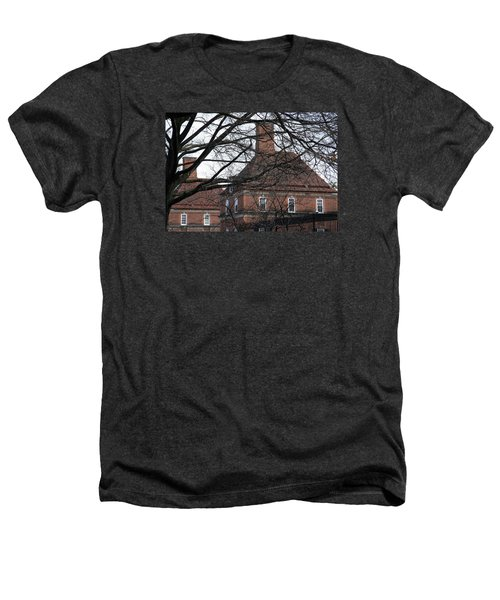 The British Ambassador's Residence Behind Trees Heathers T-Shirt by Cora Wandel