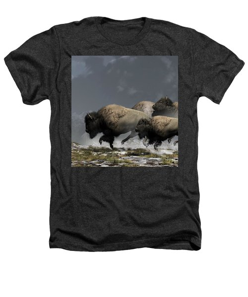 Bison Stampede Heathers T-Shirt