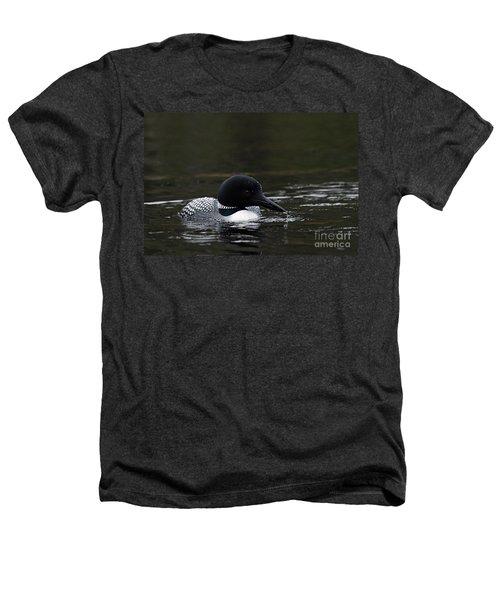 Common Loon 1 Heathers T-Shirt