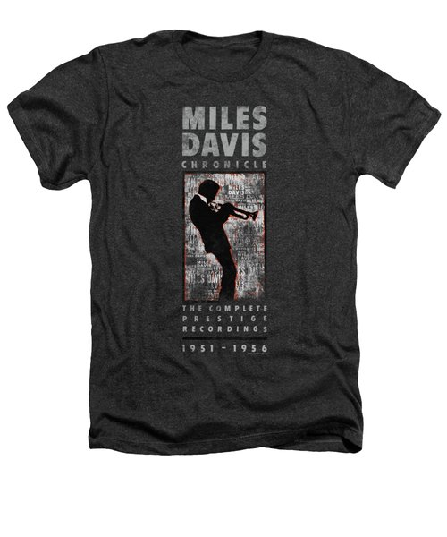 Concord Music - Miles Silhouette Heathers T-Shirt