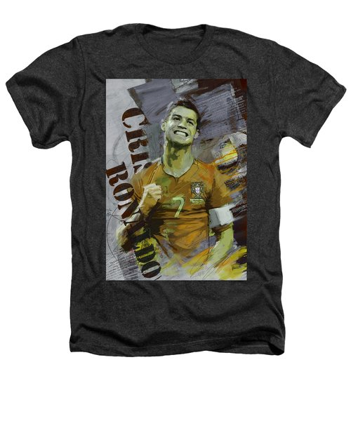 Cristiano Ronaldo Heathers T-Shirt by Corporate Art Task Force