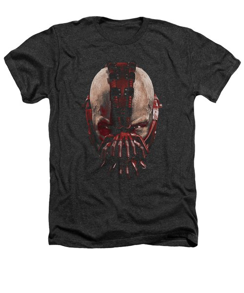 Dark Knight Rises - Bane Mask Heathers T-Shirt