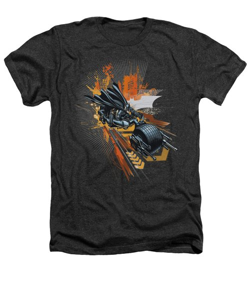 Dark Knight Rises - Batpod Heathers T-Shirt