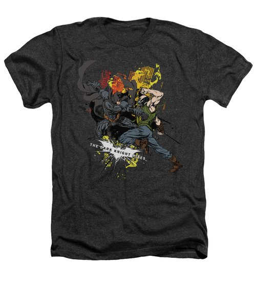 Dark Knight Rises - Fight For Gotham Heathers T-Shirt