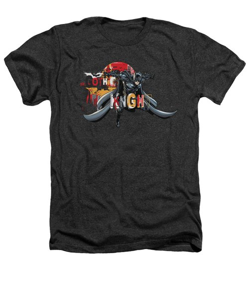 Dark Knight Rises - Gothic Knight Heathers T-Shirt