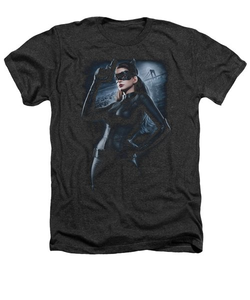 Dark Knight Rises - Out On The Town Heathers T-Shirt