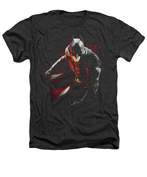 Dark Knight Rises - Ready To Punch Heathers T-Shirt