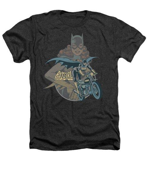 Dc - Batgirl Biker Heathers T-Shirt