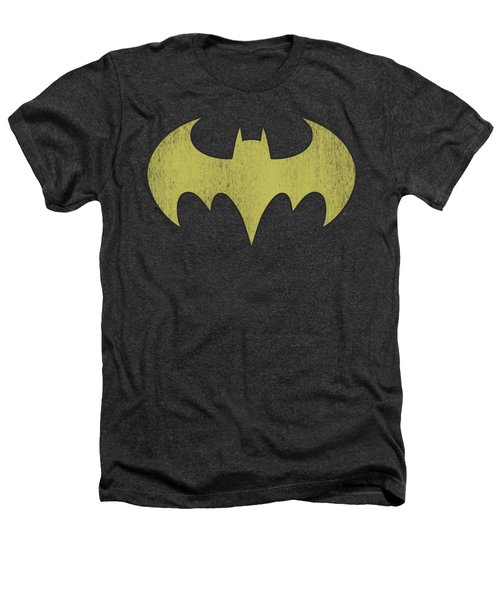 Dc - Batgirl Logo Distressed Heathers T-Shirt