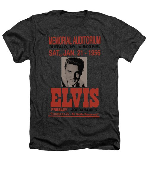 Elvis - Buffalo 1956 Heathers T-Shirt